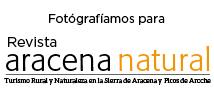 Website de la revista Aracena Natural